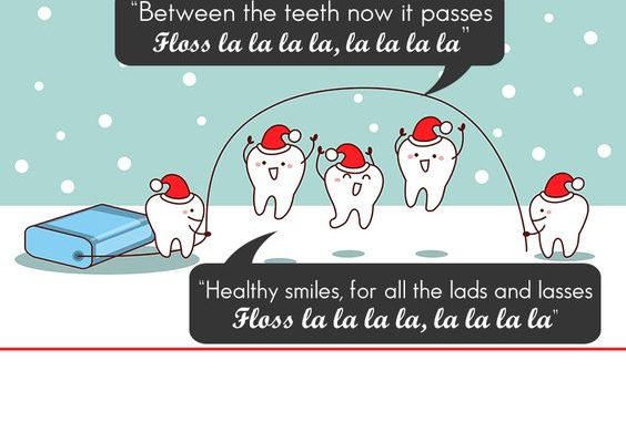 Treats during Christmas and New Year can really stress teeth out