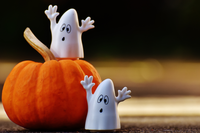 Halloween fun!  Book your child's dental check and pay with lollies…